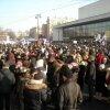 Митинг за Путина собрал рабочих, студентов и пенсионеров