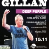все хиты Deep Purple прозвучат в исполении Ian Gillan 15 ноября в Государственный Кремлевский Дворце